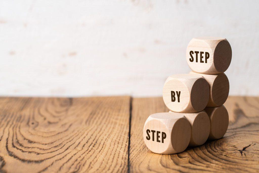 Schritt für Schritt beruflich ankommen