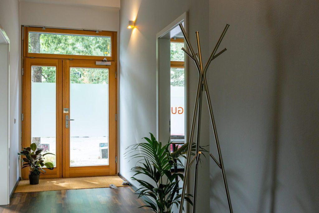 Eingangsbereich für Büroräume