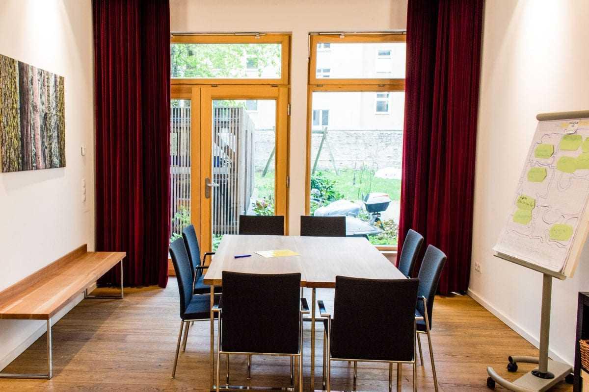 Seminarraum in Berlin für Besprechungen